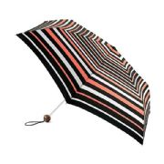 Fulton Neon Stripe Superslim-2 Compact Umbrella